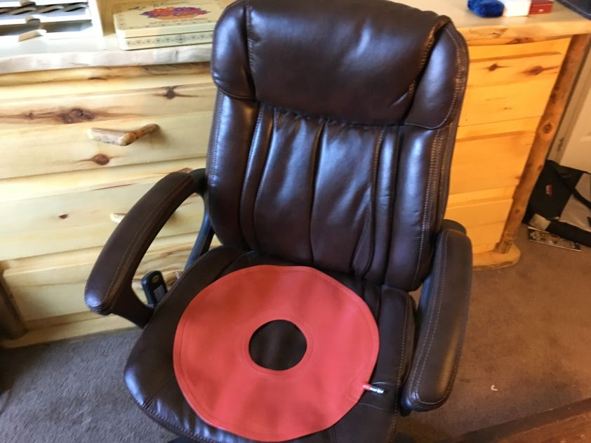 Office chair with heat and massage