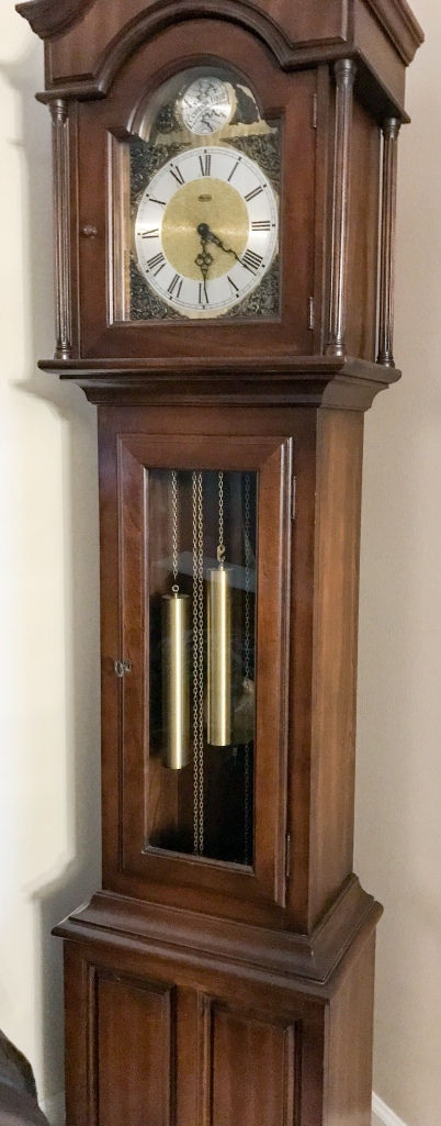 Gorgeous 1970s grandfathers clock